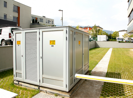 Metal Complete Transformer Stations with an external access